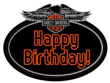 Harley Davidson clipart birthday Happy birthday 25+ Happy Pin