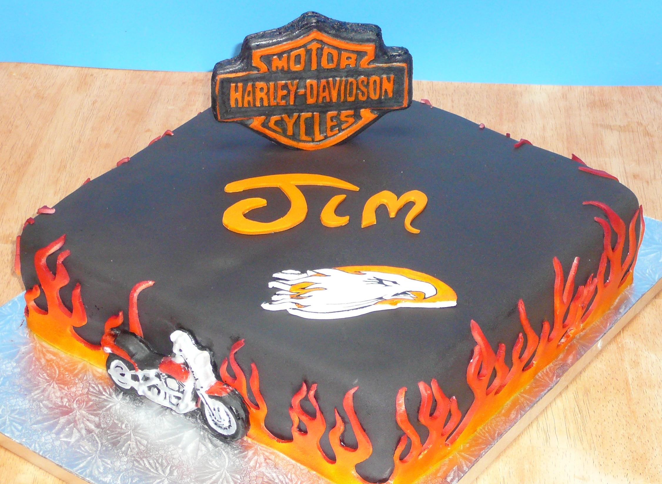 Harley Davidson clipart birthday Cakes Harley Clipart Download Harley