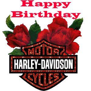 Harley Davidson clipart birthday Happy  (300×300) Pinterest (300×300)
