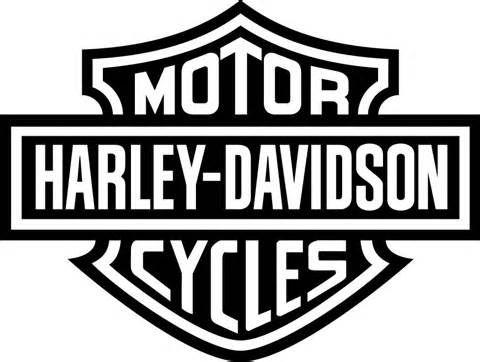 Harley Davidson clipart black and white On logo Yahoo Pinterest davidson