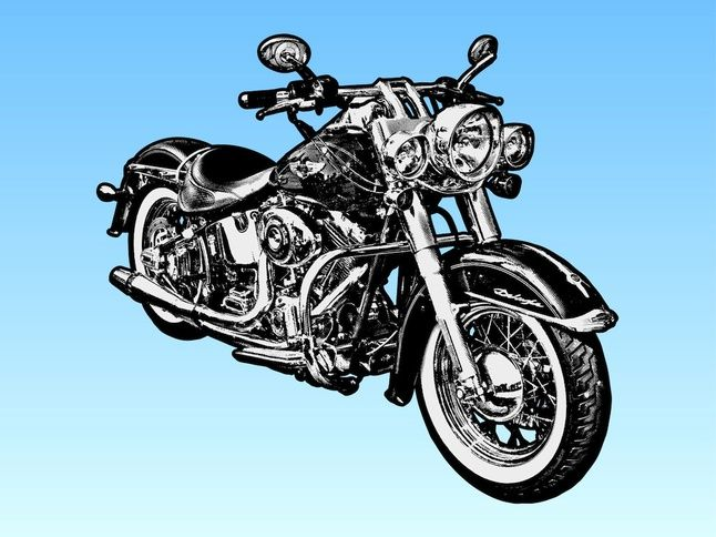 Harley Davidson clipart cartoon Harley davidson Art Davidson Cartoon