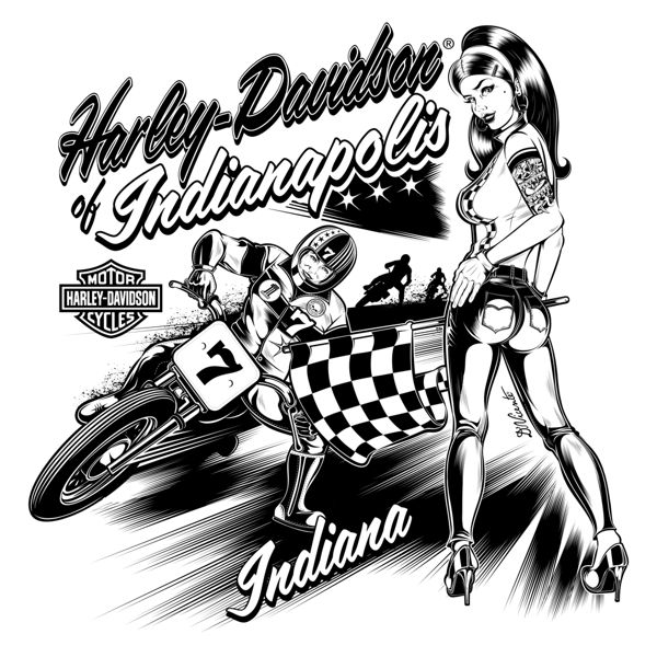 Harley Davidson clipart cartoon Harley Davidson on Davidson on
