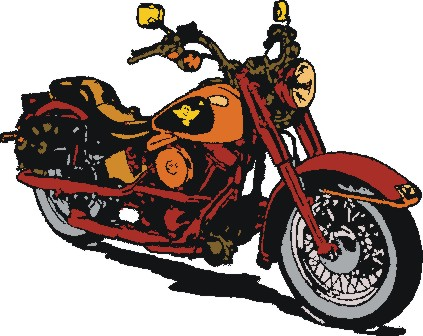Harley Davidson clipart cartoon Clip art Harley harley on