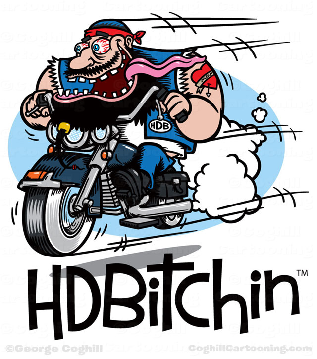 Harley Davidson clipart cartoon & Illustration motorcycle logo Blog