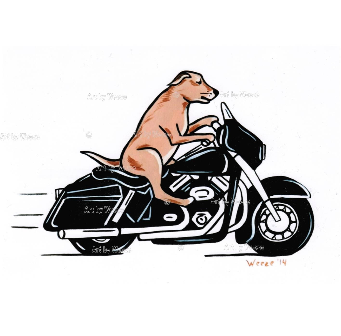 Harley Davidson clipart cartoon Urn Etsy Dog Dog Harley