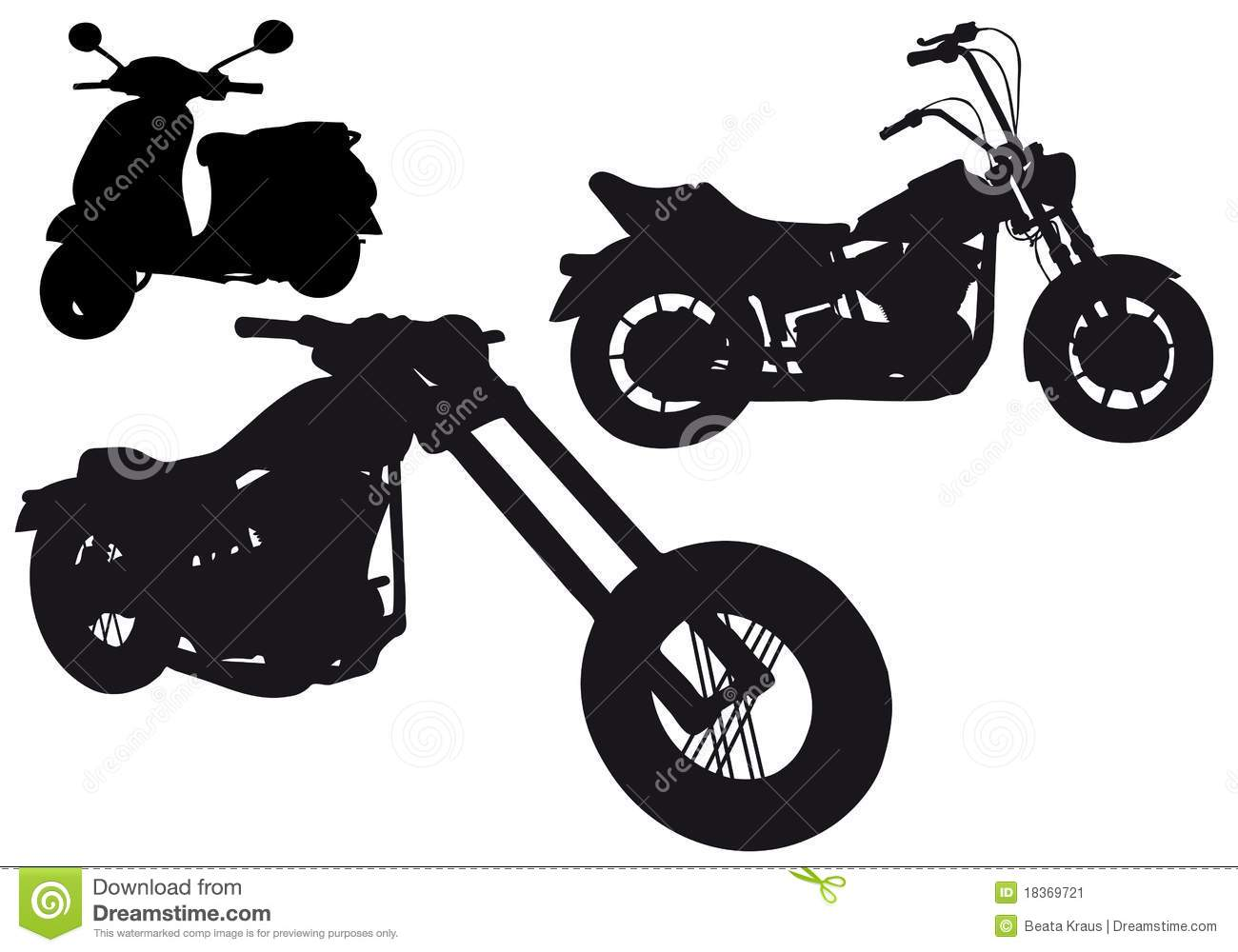 Harley Davidson clipart classic motorcycle Images 34 about silhouette Pinterest