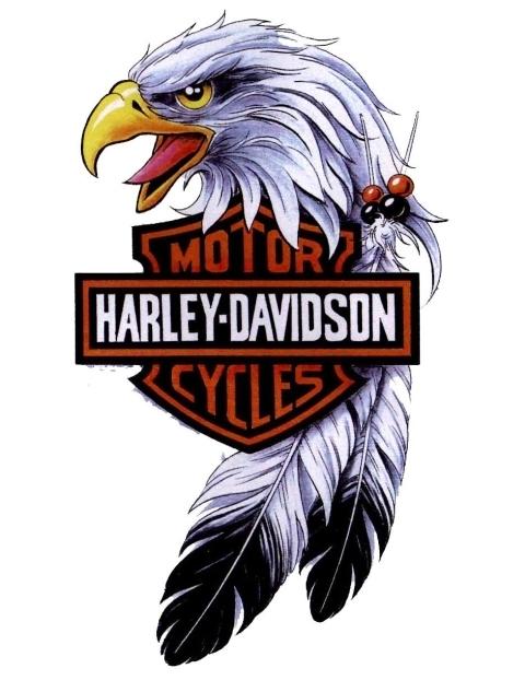 Harley Davidson clipart eagle Stencil Pictures Clip Davidson Clip