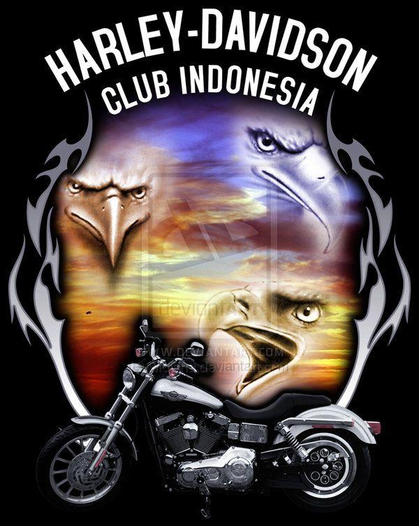 Harley Davidson clipart eagle DeviantART Art images widjana Pinterest