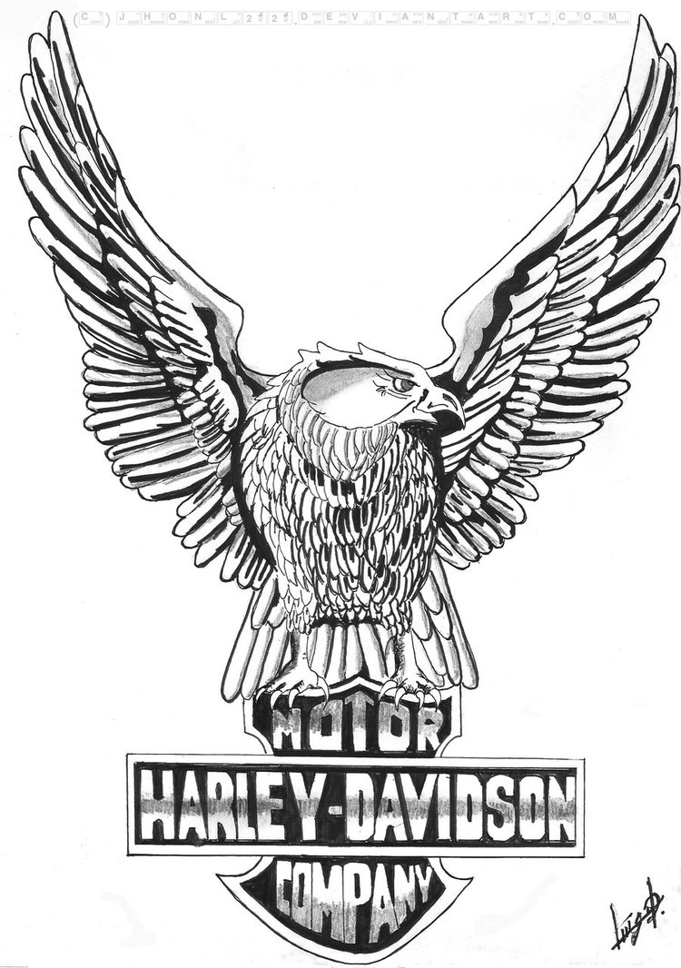 Torch clipart harley Free Harley Clip Clip Eagle