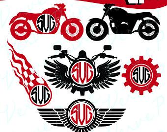 Harley Davidson clipart emblems Svg Harley Eps Svg Motorcycle
