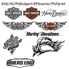 Harley Davidson clipart famous Logo Pinterest Davidson Harley