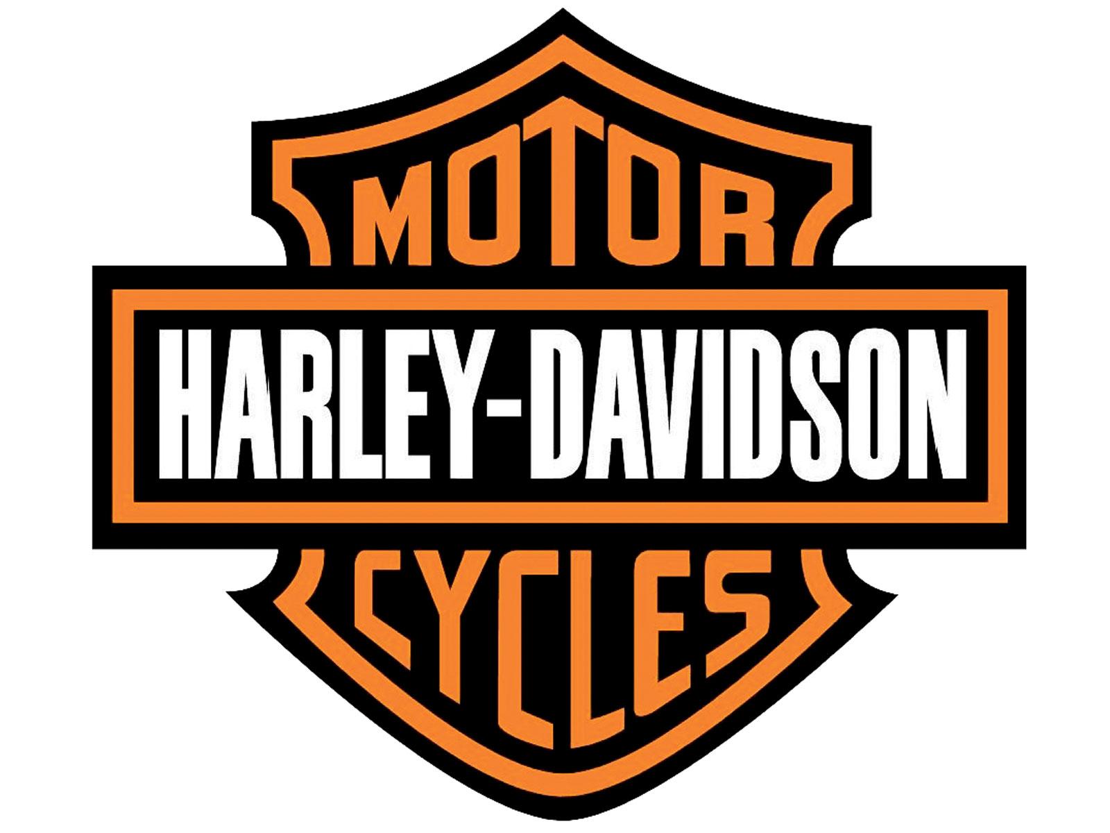 Harley Davidson clipart famous Black clipart logo orange