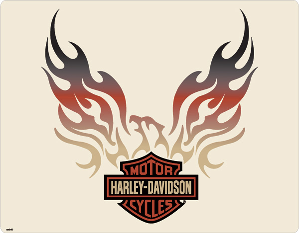 Harley Davidson clipart flame drawing Eagle free  harley logos