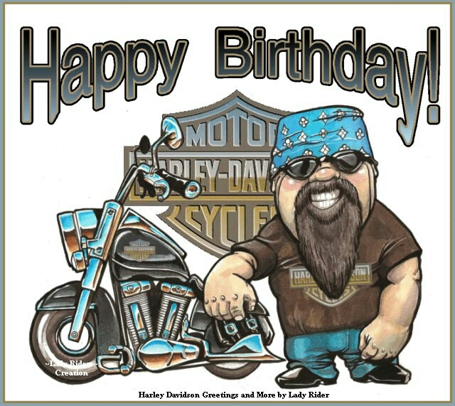 Harley Davidson clipart happy birthday Birthdays ┌iiiii┐  COLLECTIONs BIRTHDAY