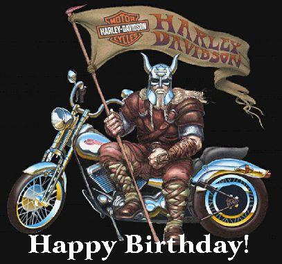Harley Davidson clipart happy birthday Happy Birthday on Pinterest BiRtHDay