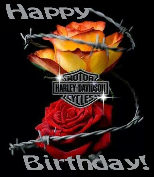 Harley Davidson clipart happy birthday Happy Birthday Davidson E Free