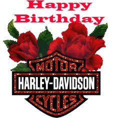 Harley Davidson clipart happy birthday Happy Birthday Harley Davidson Happy