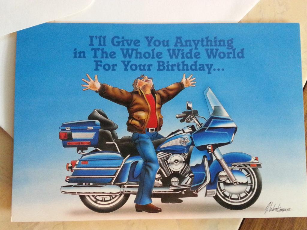 Harley Davidson clipart happy birthday Happy Birthday Birthday Motorcycle throughout