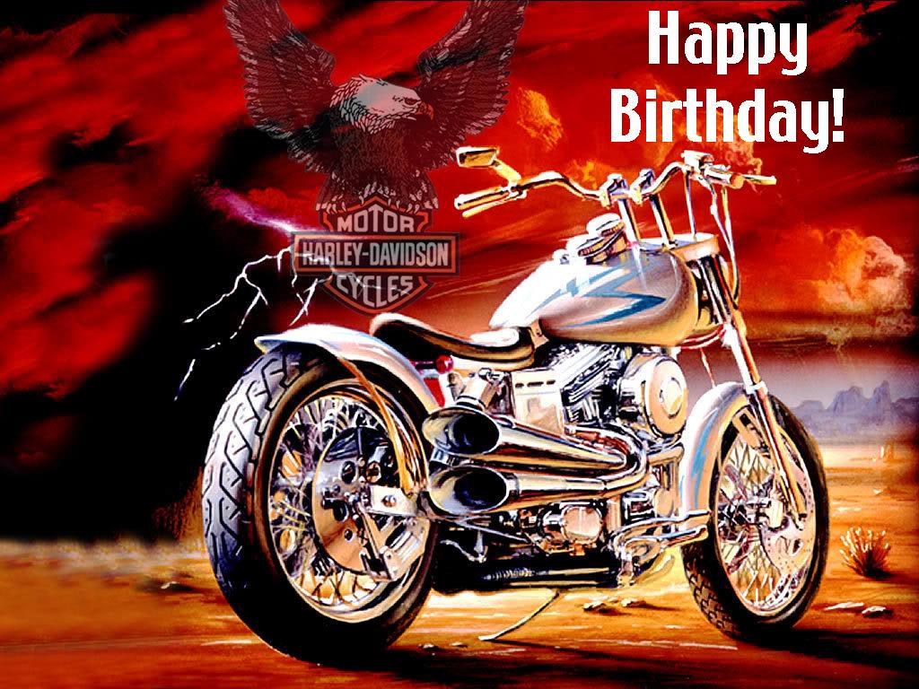 Harley Davidson clipart happy birthday Happy Birthday images on best