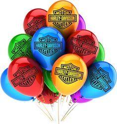 Harley Davidson clipart happy birthday  Happy Birthday E Cards