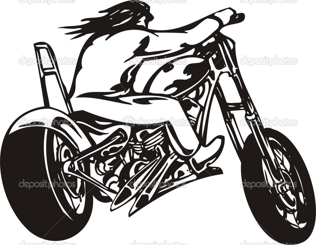 Harley Davidson clipart harley davison And girl Harley  Clipart
