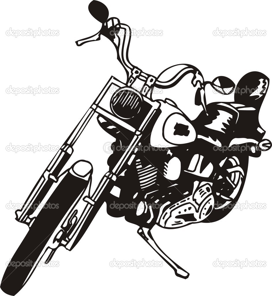 Harley Davidson clipart harley davison Panda Clipart Art Images Art