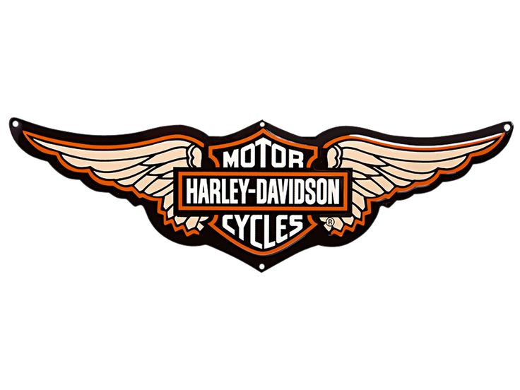 Harley Davidson clipart high resolution Davidson 99350 09V Motorcycle Wings