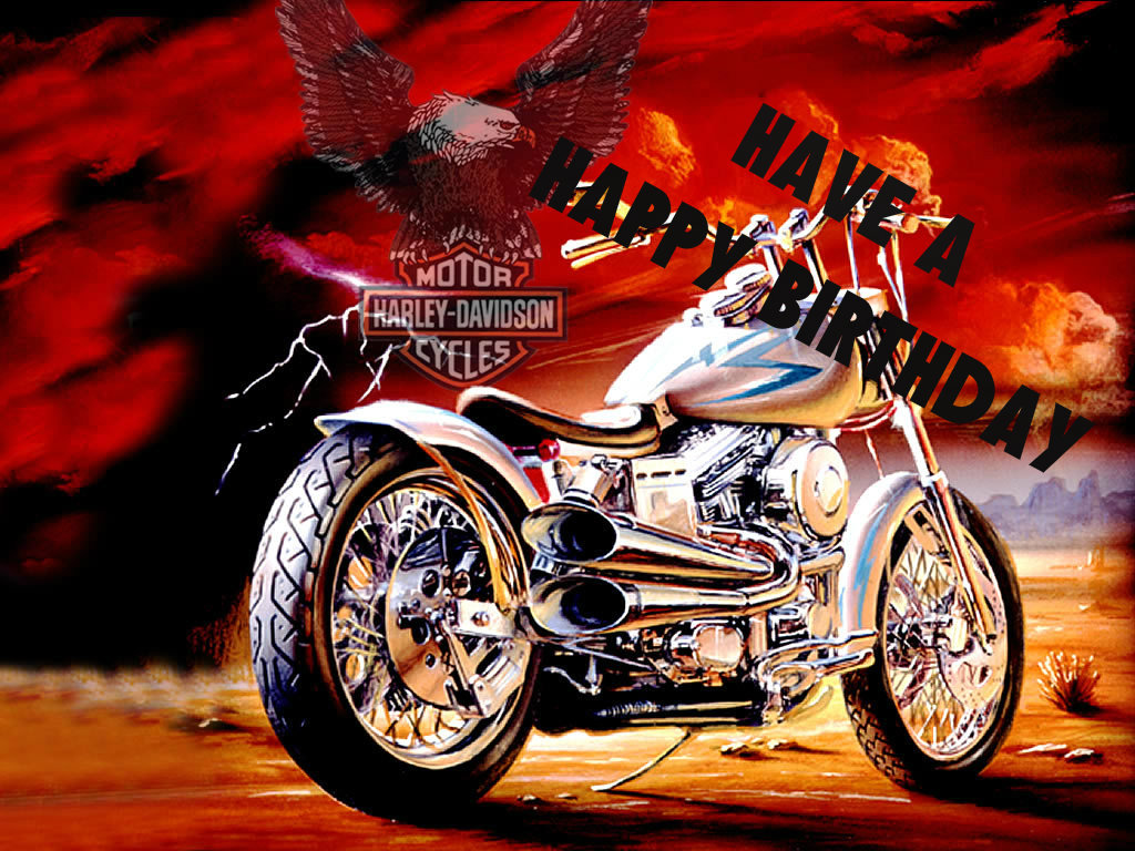 Harley Davidson clipart high resolution Birthday only time  The
