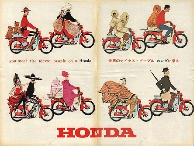 Harley Davidson clipart honda motorcycle Honda Harley VS presentation 15