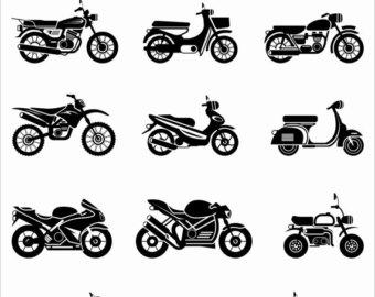 Harley Davidson clipart honda motorcycle Clipart Files Honda Clip EPS