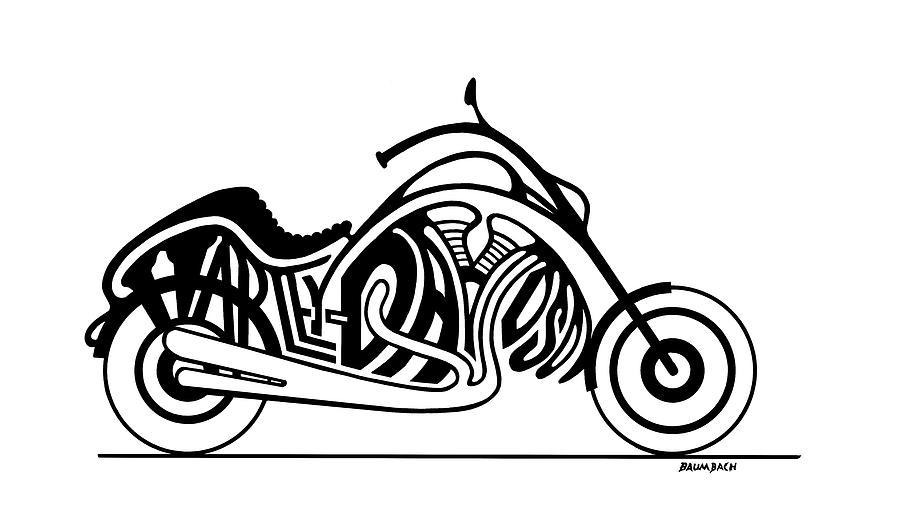 Harley Davidson clipart ipad Painting Baumbach Dennis Harley by