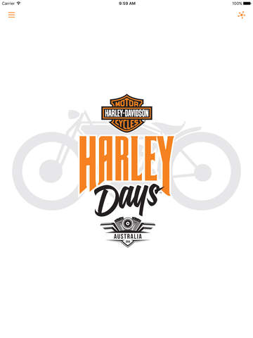 Harley Davidson clipart ipad Screenshot 1 Days 2016 Store