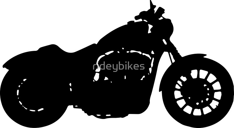 Harley Davidson clipart ipad Davidson Redbubble by Iron rideybikes