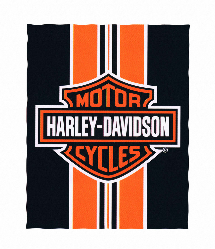 Harley Davidson clipart logo art Striped Davidson Harley Logo and