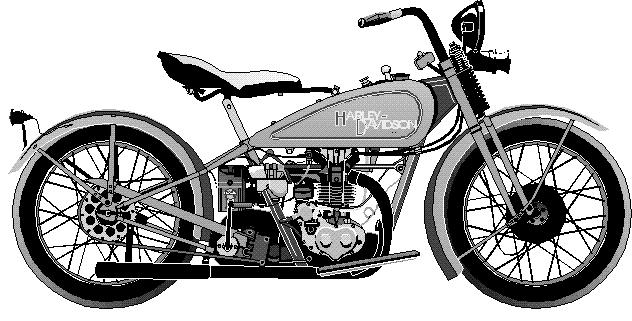 Harley Davidson clipart old motorcycle Free com Images Bike Bike