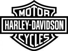 Harley Davidson clipart outline Davidson logo free can davidson