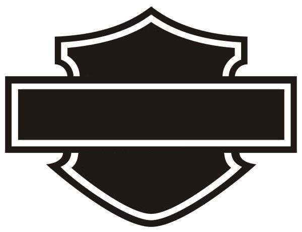 Harley Davidson clipart outline Davidson Clip Outline Bell Shield