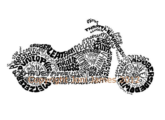 Harley Davidson clipart pencil sketch Images Art Style Pinterest Word