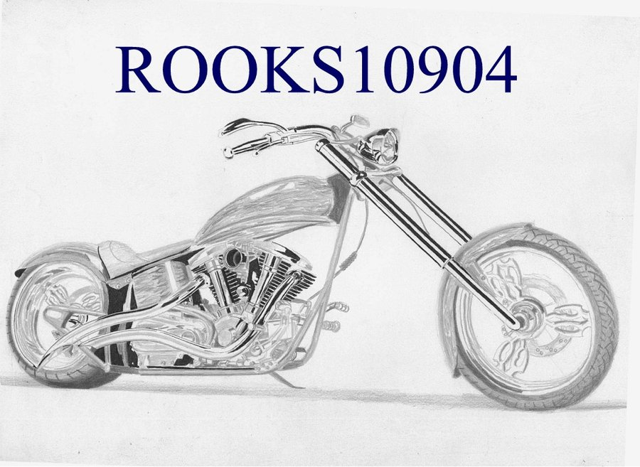 Harley Davidson clipart pencil sketch Jpg to dragoart Best to