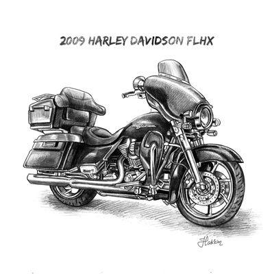 Harley Davidson clipart pencil sketch 60 Biker Davidson davidson Harley