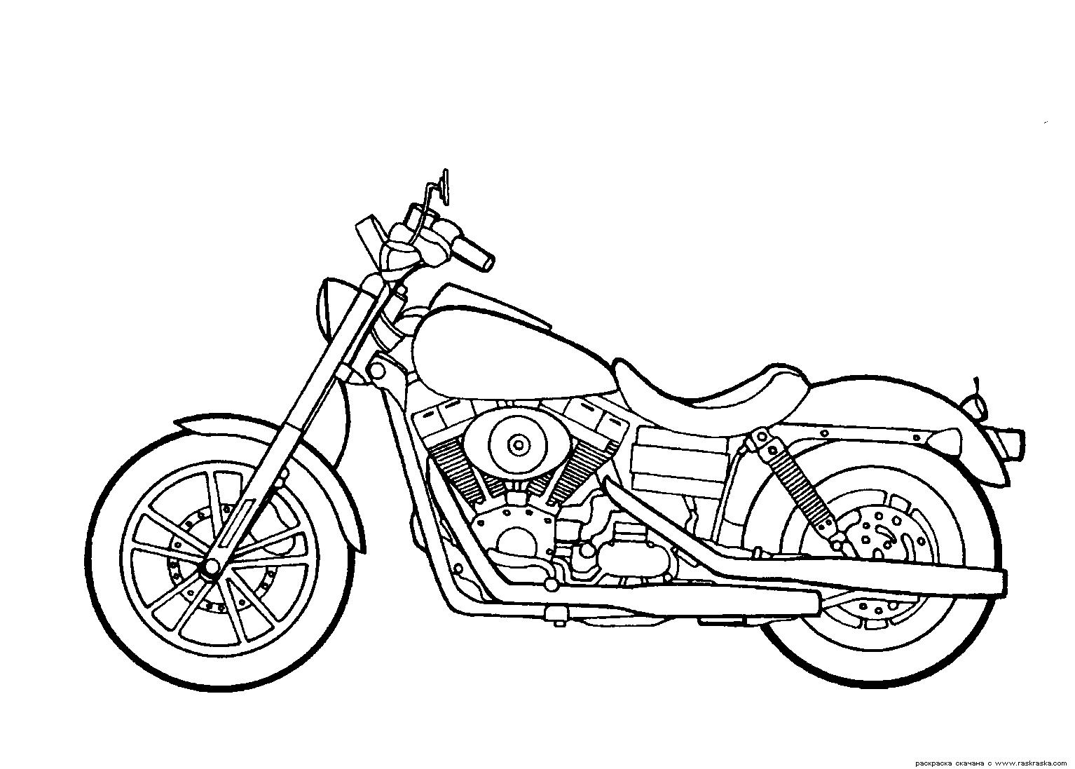 Harley Davidson clipart pencil sketch Motorcycles Glide Dyna Super Harley