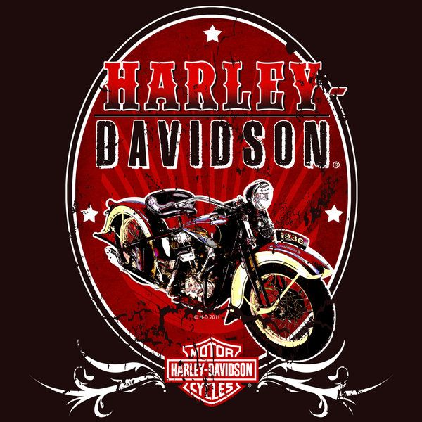 Harley Davidson clipart red motorcycle About Harley on images Art