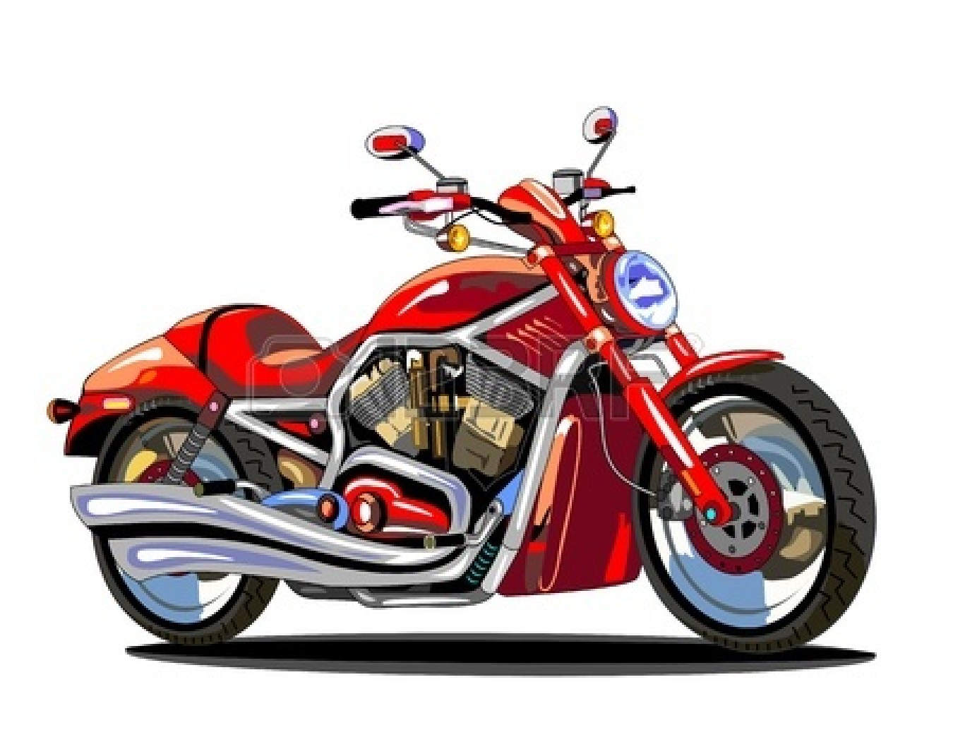 Moving clipart motorcycle Clipart Clipartix Animated clipart cartoon