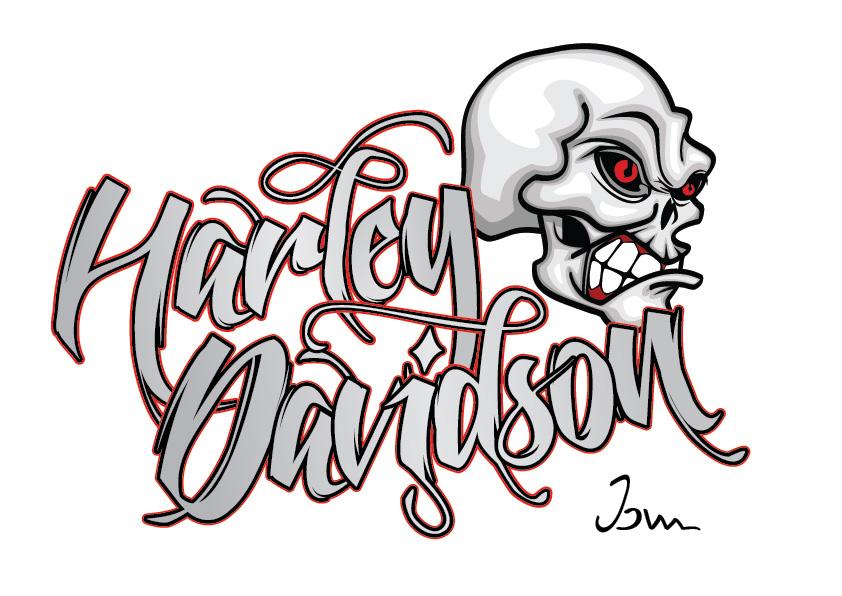Harley Davidson clipart skull LOGOS Alt Z: Davidson Davidson