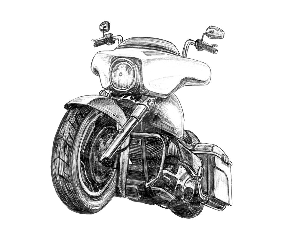 Harley Davidson clipart street glide Harley Clipart Davidson Glide Street