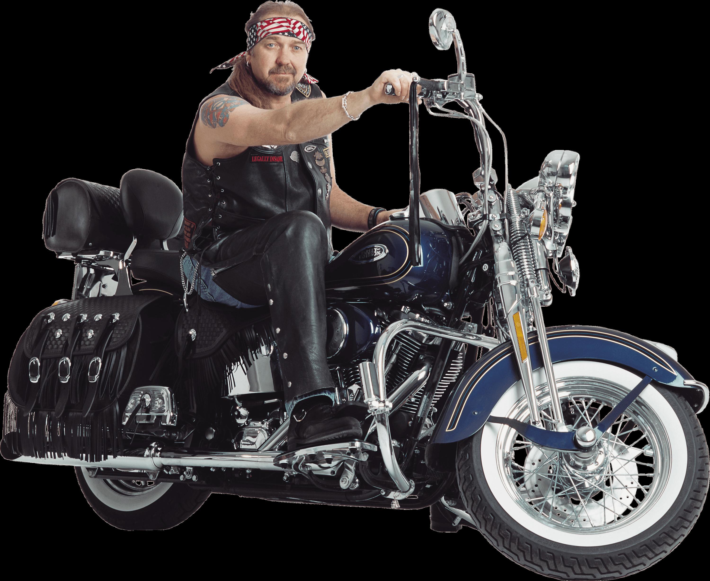 Harley Davidson clipart transparent StickPNG Motorcycle Harley Motorbiker Motorcycle