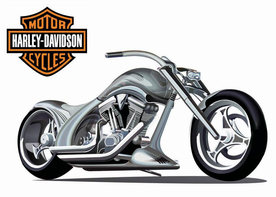 Harley Davidson clipart vector Art Tasha25 library Free Davidson