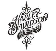 Harley Davidson clipart vector Merchandise Motorcycle Davidson: & Cartoon