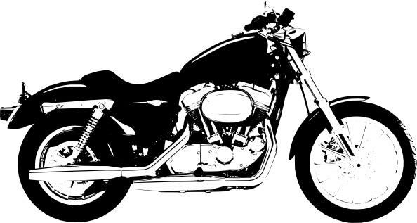 Harley Davidson clipart vector  clip davidson vector) Harley