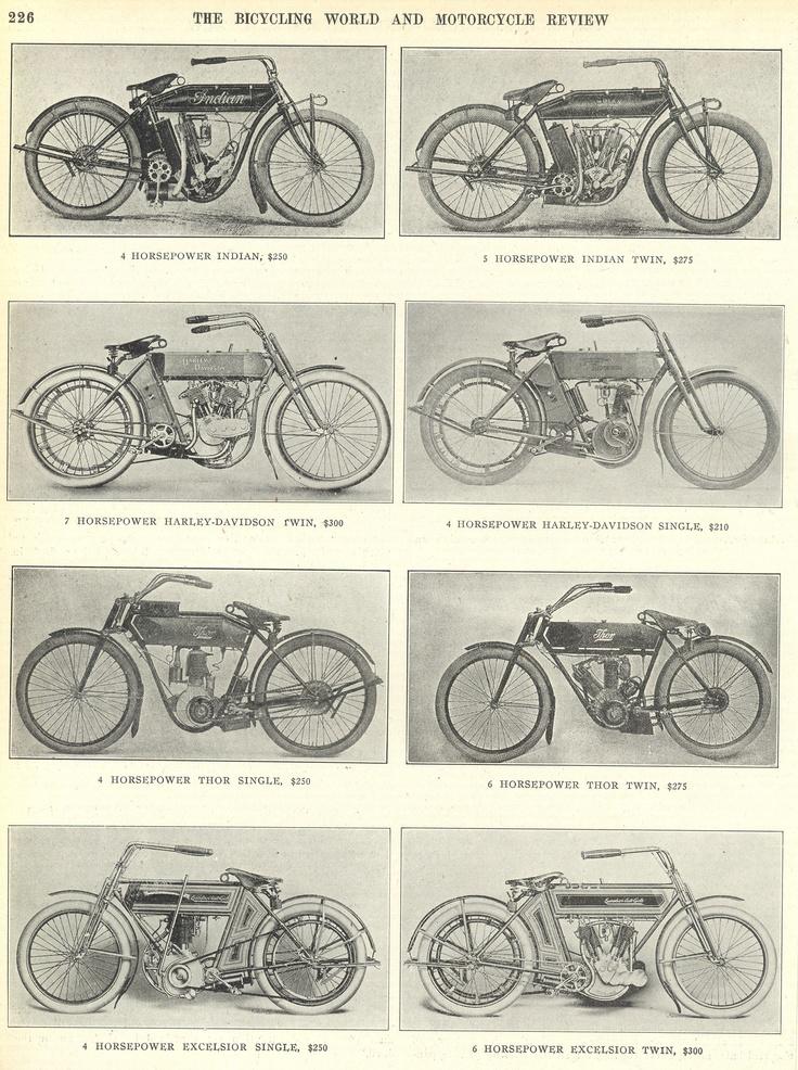 1910 on 115 Harley Motor
